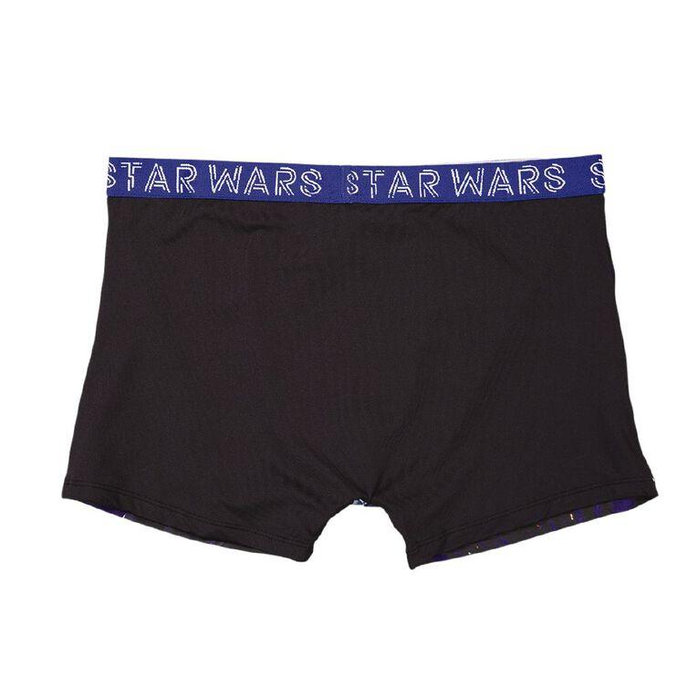 Star Wars Men's Trunks, Blue Dark, hi-res