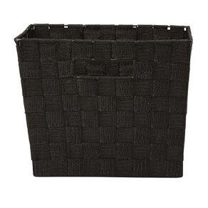 Living & Co Woven Basket Black Medium
