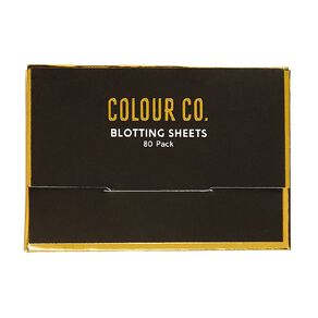 Colour Co. Blotting Sheets 80 Pack