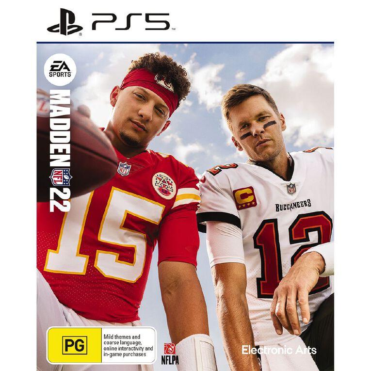 PS5 Madden NFL 22, , hi-res