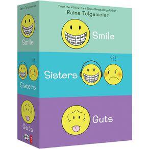 Smile Sisters & Guts: The Box Set by Raina Telgemeier