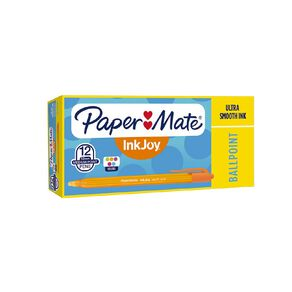 Paper Mate Inkjoy 100RT Fashion Colours 12 Pack Mixed Assortment