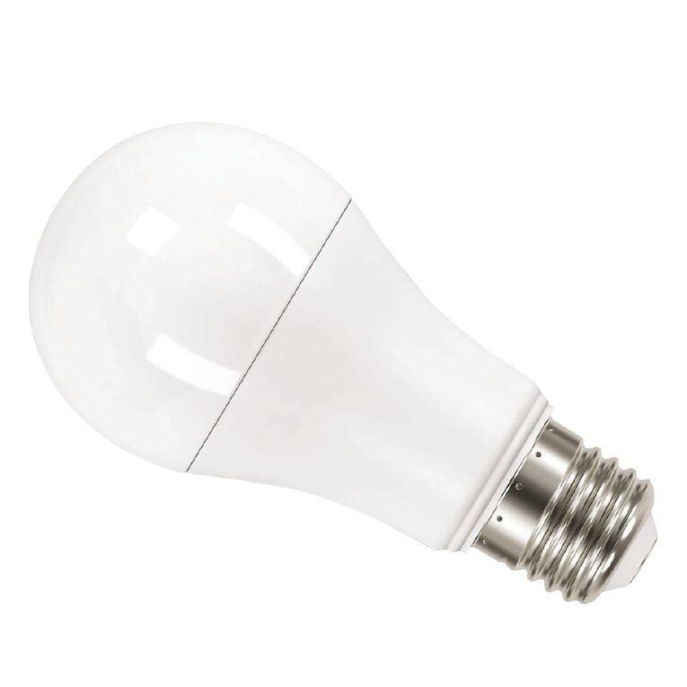 General Electric E27 LED Classic 13.2W Warm White Light Bulb 2 Pack, , hi-res