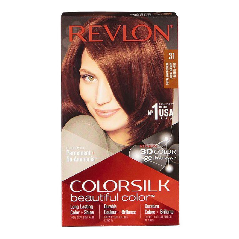 Revlon Colorsilk Dark Auburn 31, , hi-res
