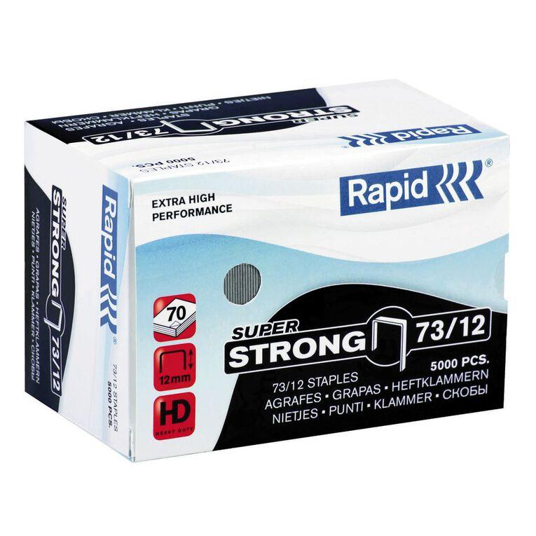 Rapid Staples 73/12 5000 Pack Silver, , hi-res