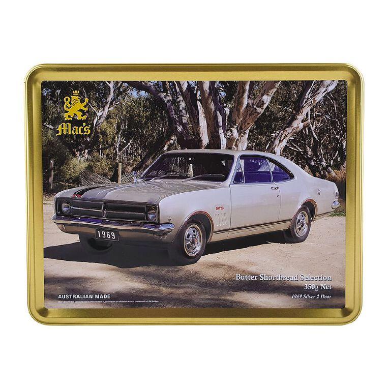 Mac's Shortbread Car Embossed Gift Tin with Shortbread Assortment 350g, , hi-res