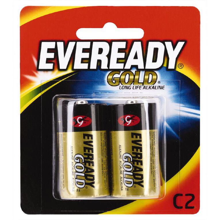 Eveready Gold C 2 Pack, , hi-res
