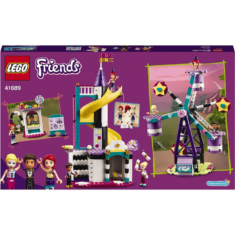 LEGO Friends Magical Ferris Wheel and Slide 41689, , hi-res
