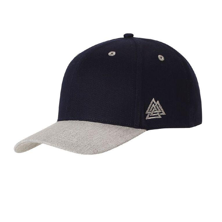 H&H Men's Baseball Cap, Navy, hi-res