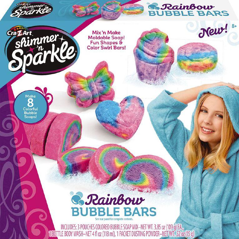 Shimmer n Sparkle Rainbow Bubble Bars, , hi-res