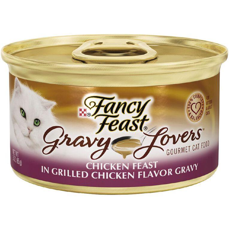 Fancy Feast Gravy Lovers Chicken 85g, , hi-res