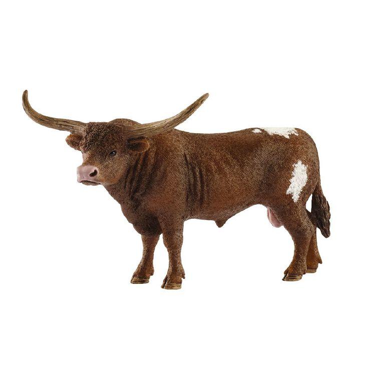 Schleich Texas Longhorn Bull, , hi-res