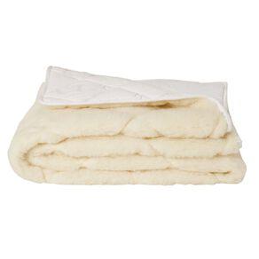 Living & Co Underlay Reversible Wool 500gsm White