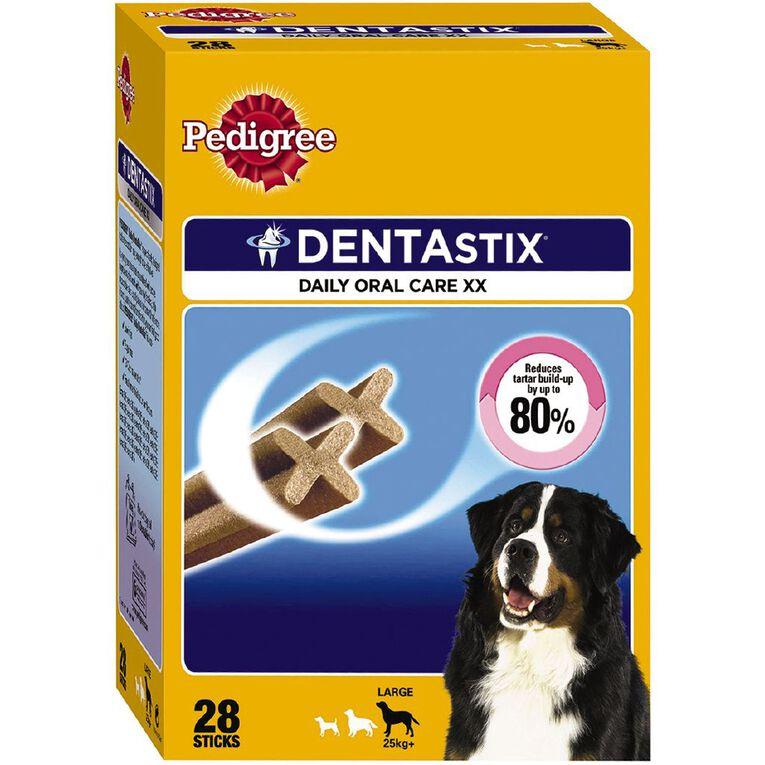 Pedigree Dentastix Dog Treats Daily Oral Care Large Dog 28 Sticks, , hi-res