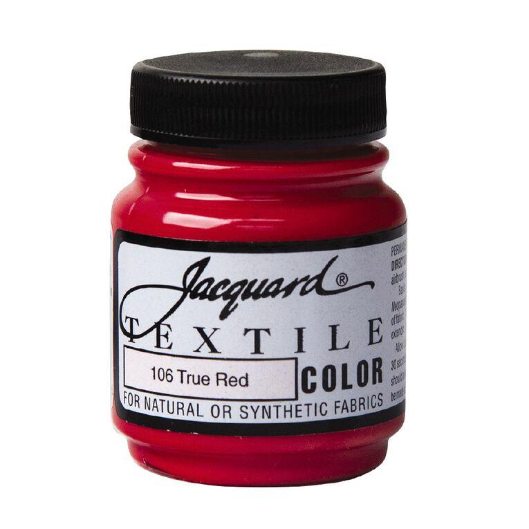 Jacquard Textile Colours 66.54ml True Red, , hi-res