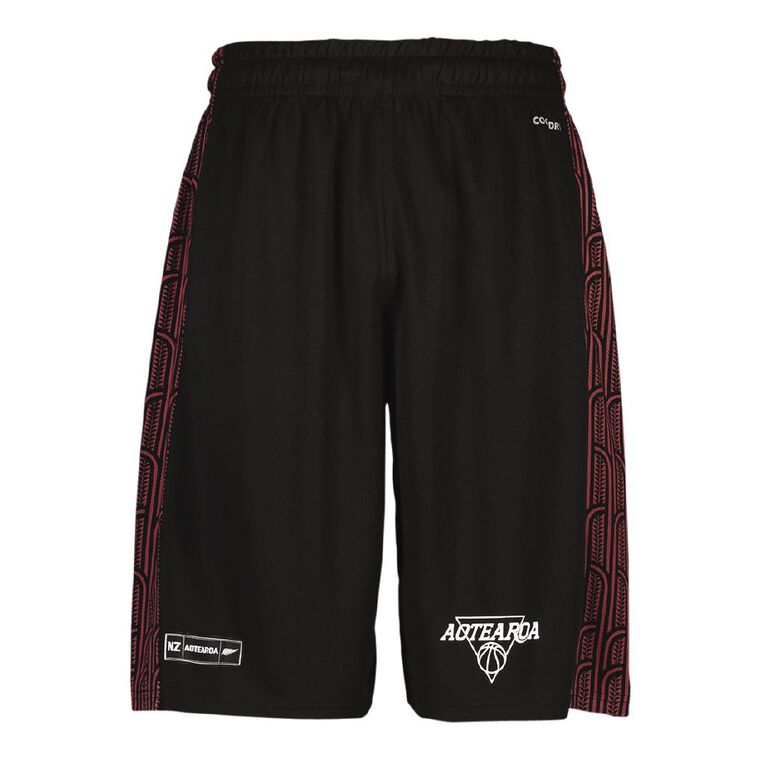 Active Intent Men's Supporter Basketball Shorts, Black, hi-res