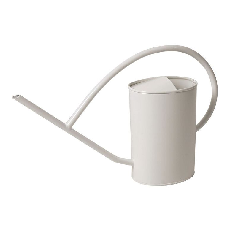 Kiwi Garden Galvanised Watering Can White 2L, , hi-res