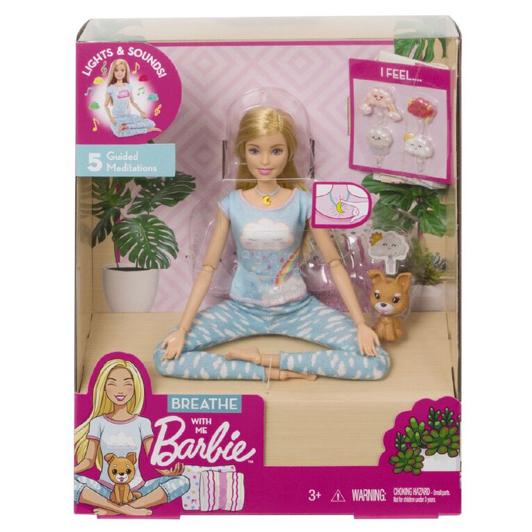 Barbie Meditation Breathe with Me Doll Exclusive Assorted, , hi-res