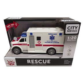 Play Studio Light & Sound 1:20 Ambulance