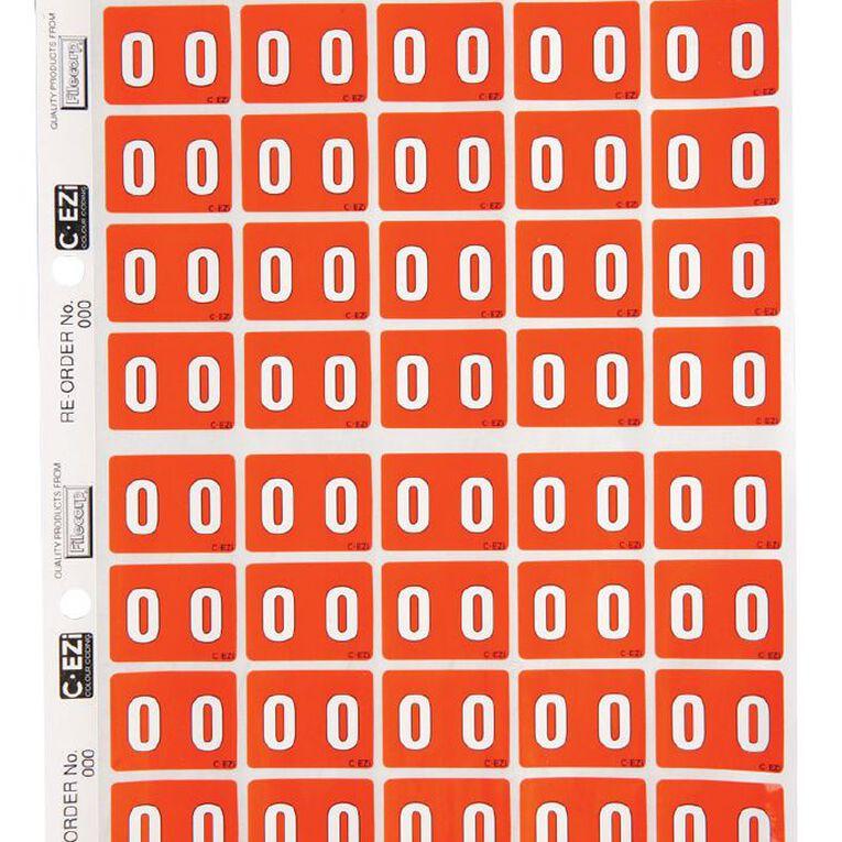 Filecorp Coloured Labels 0 Orange, , hi-res