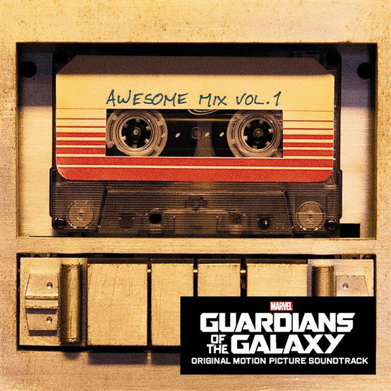 Guardians Of The Galaxy CD by Various Artists 1Disc, , hi-res