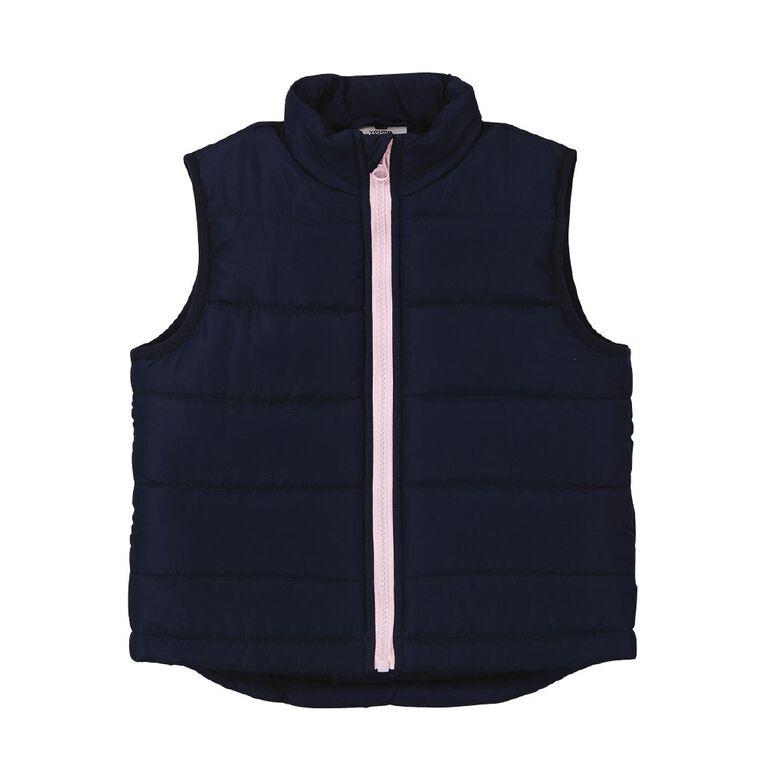 Young Original Toddler Puffer Vest, Blue Dark, hi-res