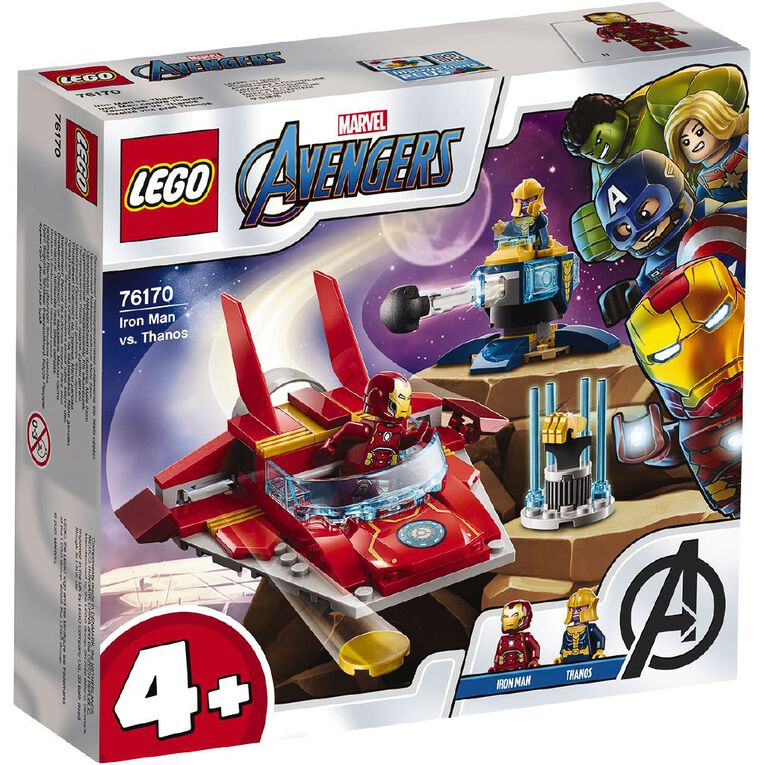 LEGO Marvel Super Heroes Iron Man vs Thanos 76170, , hi-res image number null