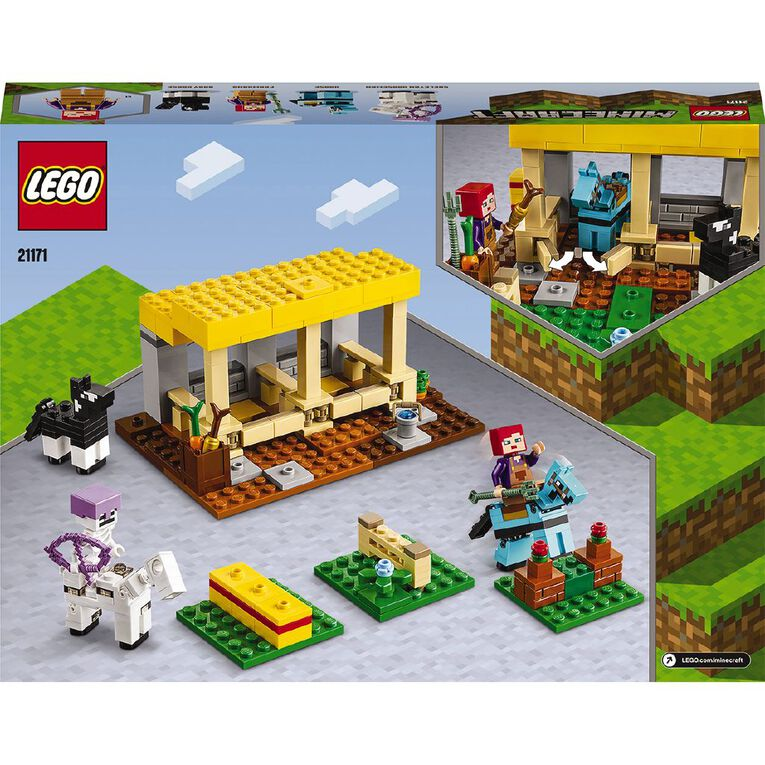 LEGO Minecraft The Horse Stable 21171, , hi-res