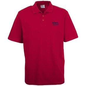 Schooltex Milson Short Sleeve Polo with Embroidery