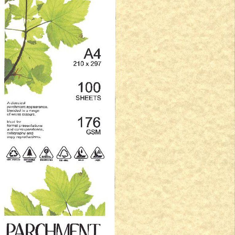 Direct Paper Parchment Paper 100gsm 100 Pack Orion Cream A4, , hi-res