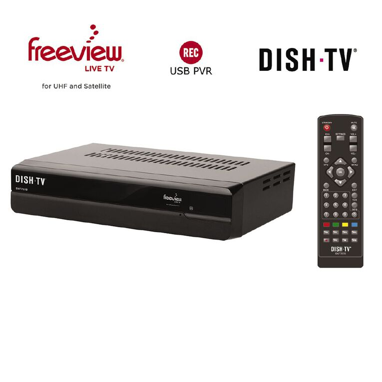 DishTV Freeview UHF Antenna/ Satellite Receiver SNT7070, , hi-res