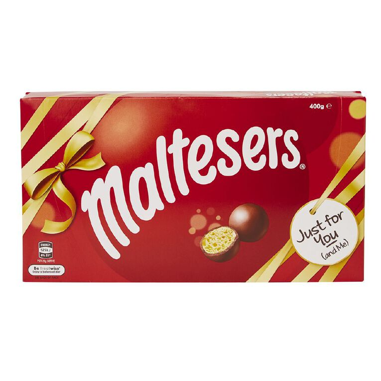 Maltesers Milk Chocolate Gift Box 400g, , hi-res