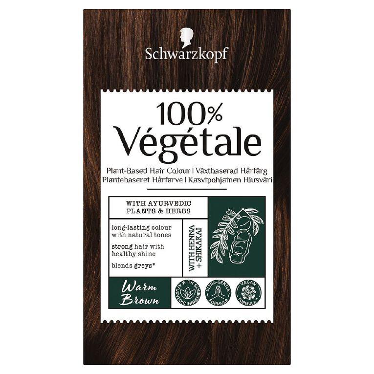 Schwarzkopf 100% Vegetale Warm Brown, , hi-res