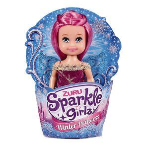 Zuru Sparkle Girlz Winter Princess Cupcake Doll 4.5 Inch Assorted