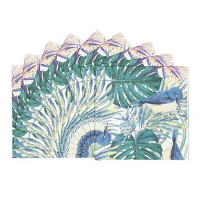 Party Inc Teal Tropical Napkins 2 Ply 33cm 20 Pack