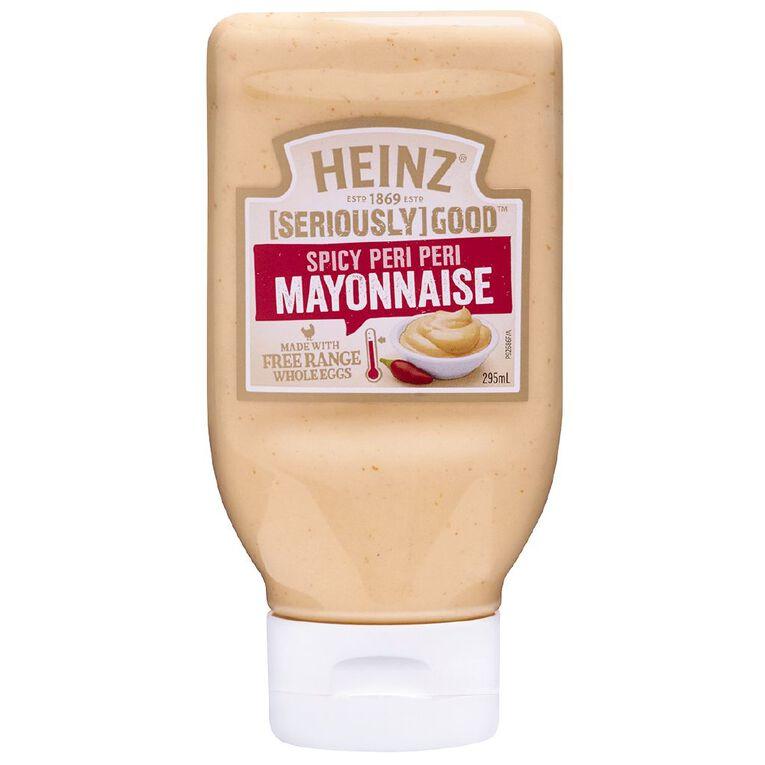 Heinz Seriously Good Peri Peri Mayonnaise 295ml, , hi-res