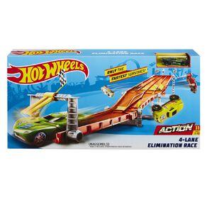 Hot Wheels 4 Lane Raceway Trackset