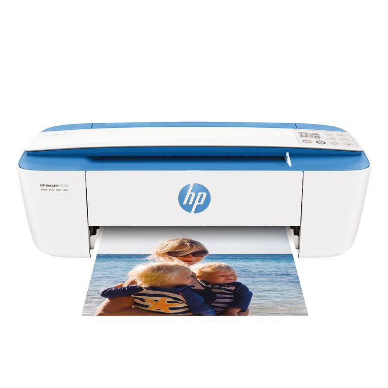HP DeskJet 3720 All-in-One Printer Electric Blue, , hi-res
