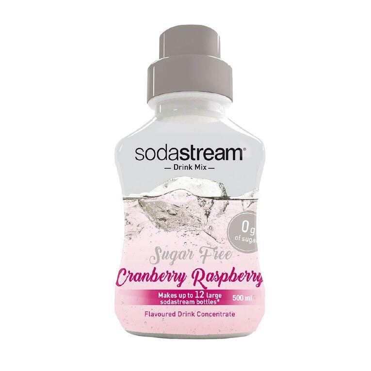 Sodastream Syrup Sugar Free Cran-Rasp 500ml, , hi-res