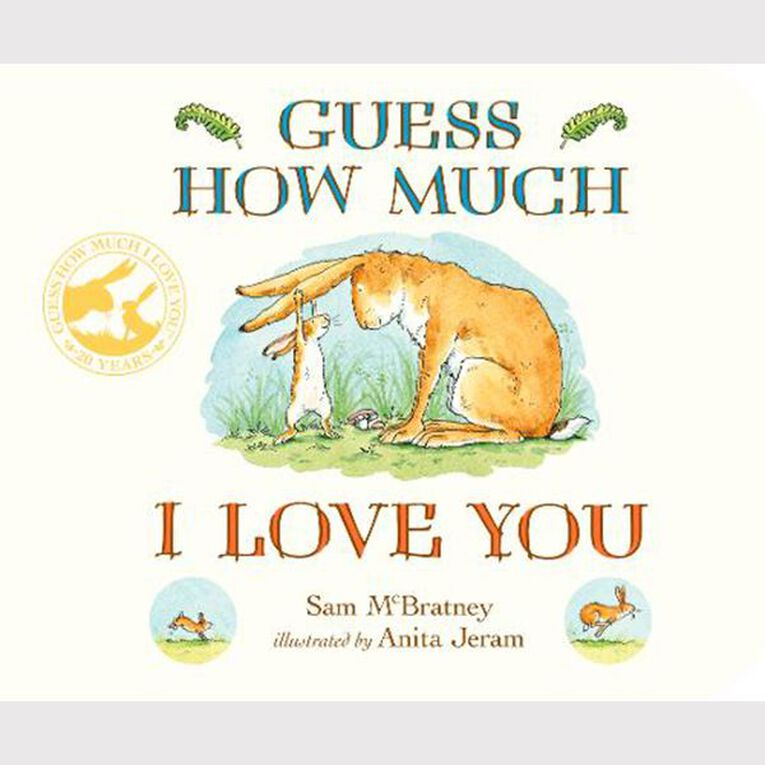 Guess How Much I Love You Board Book by Sam McBratney, , hi-res