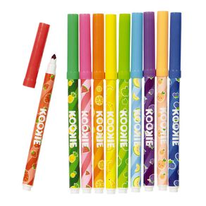 Kookie Scented Fineline Markers 10 Pack
