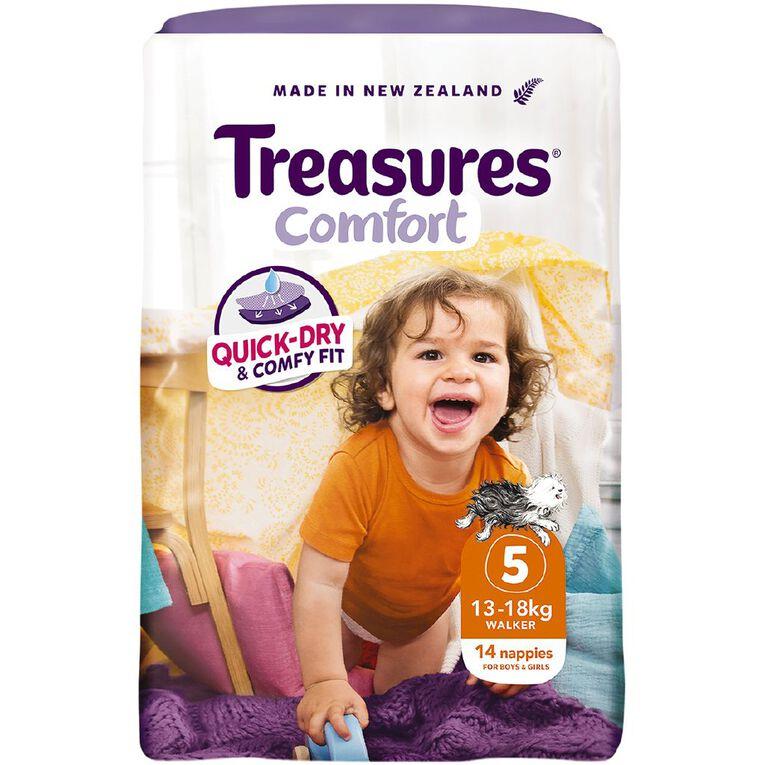 Treasures Standard Walker Nappies 14 Pack, , hi-res