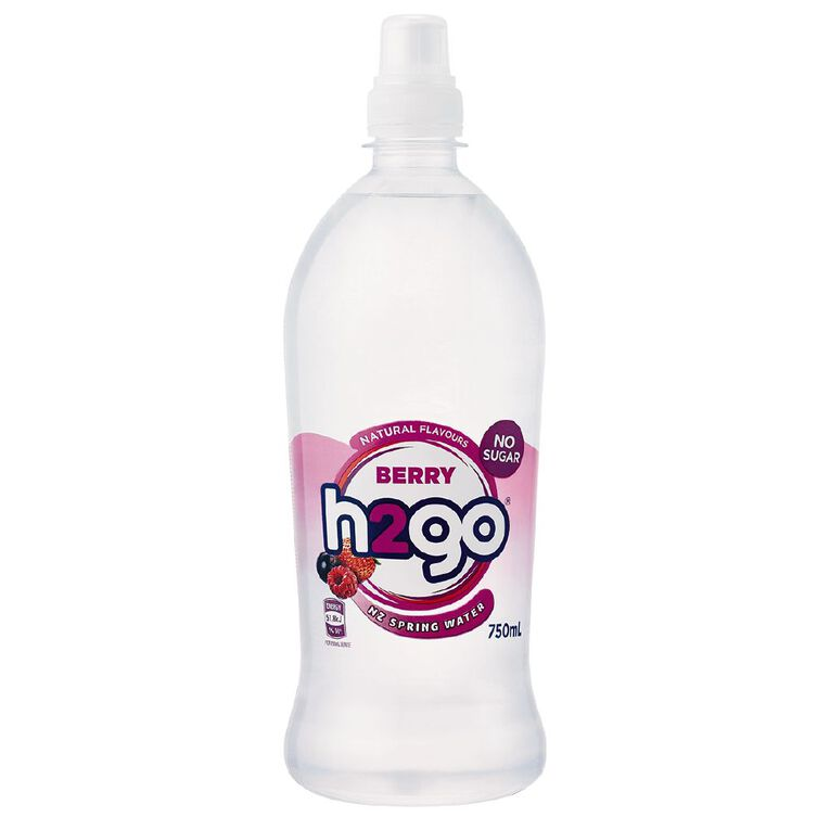 H2go Flavoured Water Berry 750ml, , hi-res