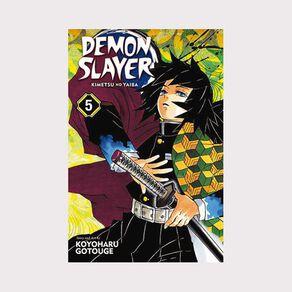 Demon Slayer: Kimetsu No Yaiba Vol #5 by Koyoharu Gotouge