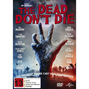 DVD The Dead Dont Die 1Disc