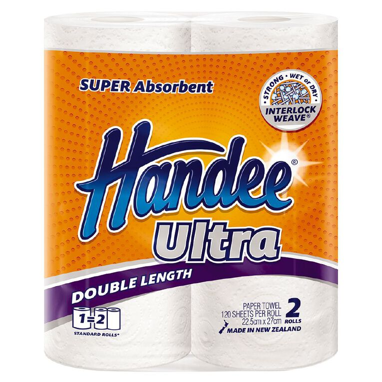 Handee Long Roll Paper Towel 2s, , hi-res
