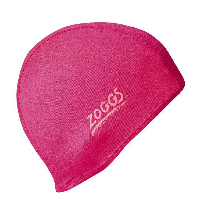 Zoggs Junior Delxue Stretch Swimming Cap Assorted, , hi-res