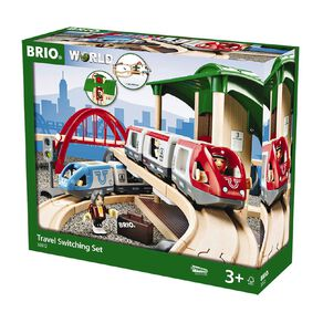 Brio Travel Switching Set 42 Pieces