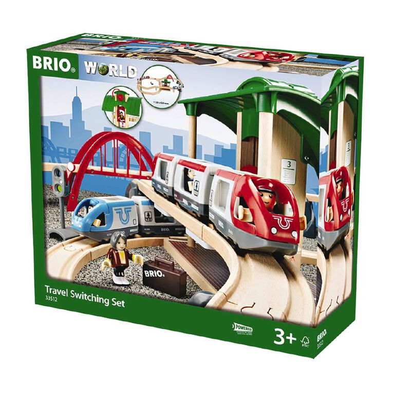 Brio Travel Switching Set 42 Pieces, , hi-res
