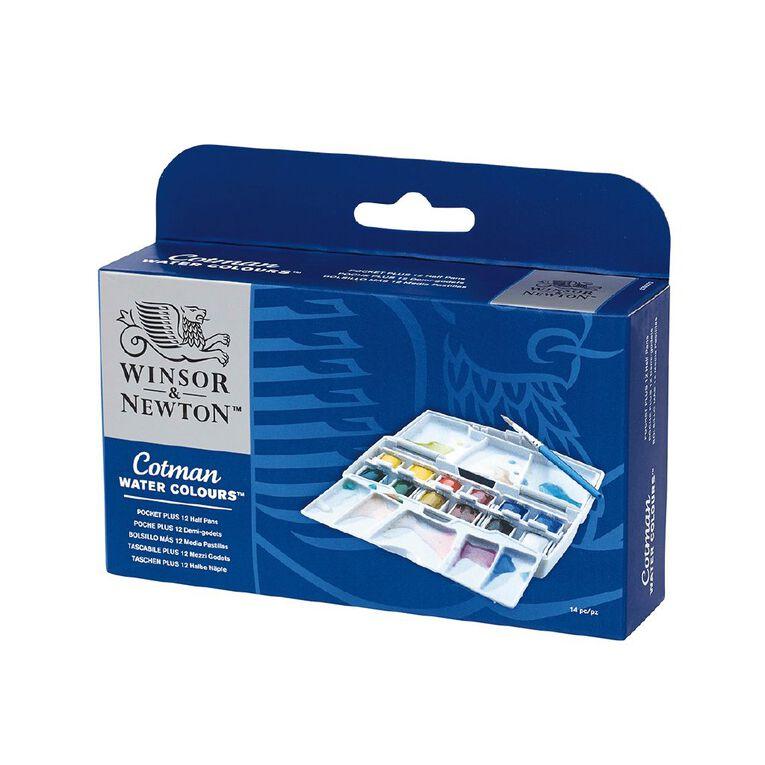 Winsor & Newton Cotman Watercolour Pocket Plus Set 12, , hi-res